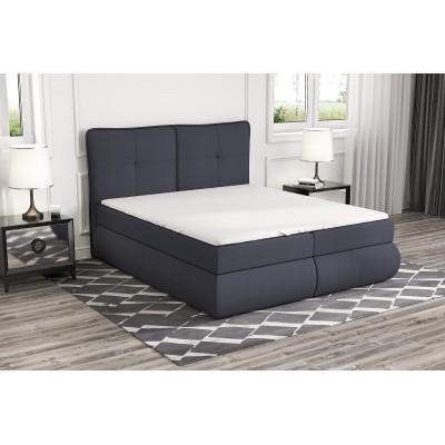 łóżko z materacem 160x200 do sypialni OTI stelaż