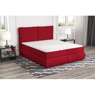 łóżko z materacem 200x200 do sypialni OTI stelaż