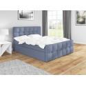 Łóżko z materacem 140x200 do sypialni ITALIA