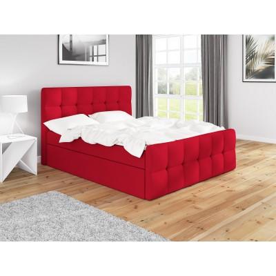 Łóżko z materacem 160x200 do sypialni ITALIA