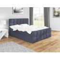 Łóżko z materacem 200x200 do sypialni ITALIA