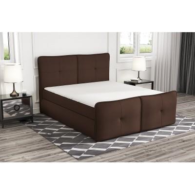 łóżko z materacem 140x200 do sypialni PAX stelaż