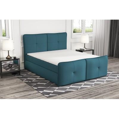 łóżko z materacem 160x200 do sypialni PAX stelaż