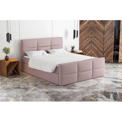 Łóżko kontynentalne OLEG 180/200