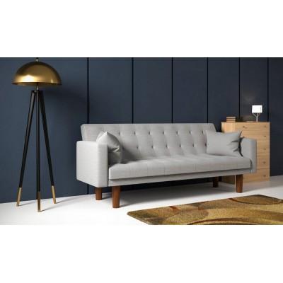 Duża kanapa do salonu z funkcja spania łóżko
