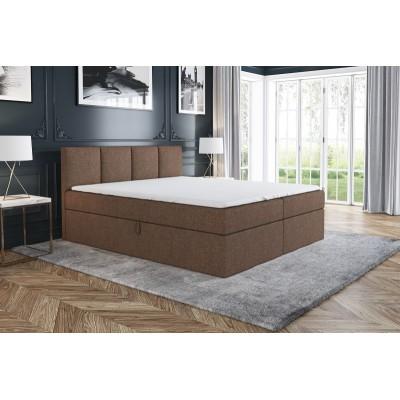 Łóżko Tapicerowane Kontynentalne RALF 160/200 materac