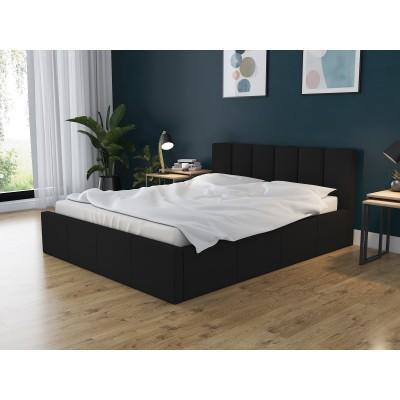Łóżko DORI tapicerowane stelaż + pojemnik 160x200