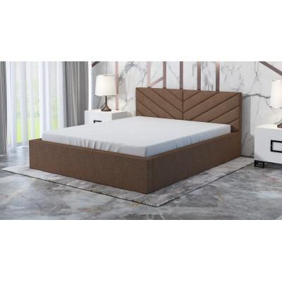 Łóżko ROBI tapicerowane stelaż+pojemnik 90x200