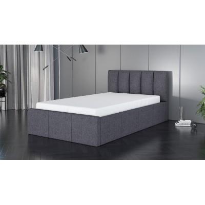 Łóżko ROXI tapicerowane stelaż+pojemnik 90x200