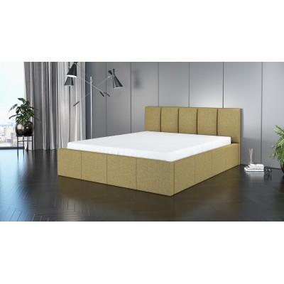 Łóżko ROXI tapicerowane stelaż+pojemnik 120x200