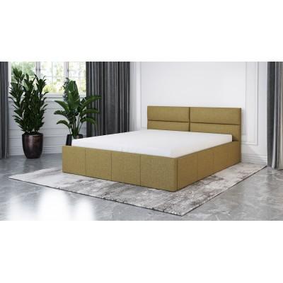 Łóżko XARO tapicerowane stelaż+pojemnik 120x200