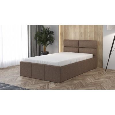 Łóżko XARO tapicerowane stelaż+pojemnik 90x200