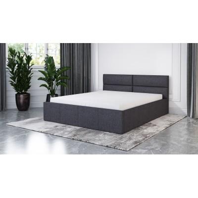 Łóżko XARO tapicerowane stelaż+pojemnik 160x200
