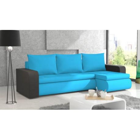 Narożnik Rogówka WEST funkcja spania sofa